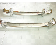 VW TYPE 3 BUMPER CAR IN STAINLESS STEEL (1963-1969)
