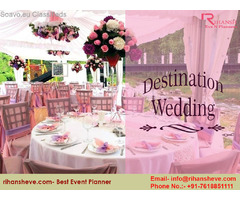 Choose cheap and best wedding planner on your big day- Rihansh Eve N Planner