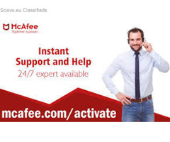 McAfee antivirus to protect your PC