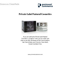 Private Label Organic Products Europe -ProInvest Commerce