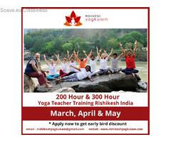 300 Hour Yoga Teacher Training Course in Rishikesh