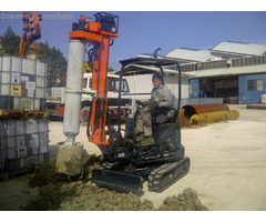 New piling / drilling rig  Tescar CF1