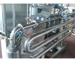 Full pasteurizer on platform 5000litre / hour Pieralisi  Model  2000