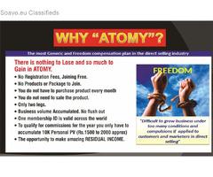 **ATOMY E-COMMERCE BUSINESS DISTRIBUTOR** - FREE REGISTRATION (NO RISK, NO COST)
