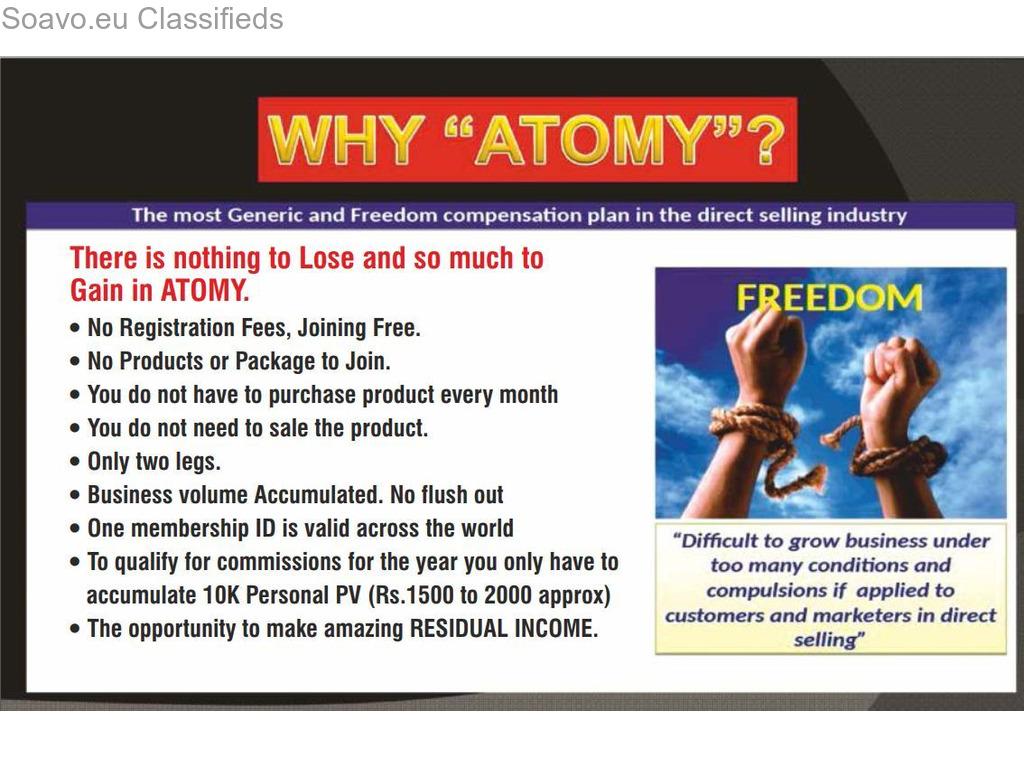 ATOMY E-COMMERCE BUSINESS DISTRUBUTOR