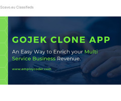 Gojek Clone App | Hire Gojek Clone Developers