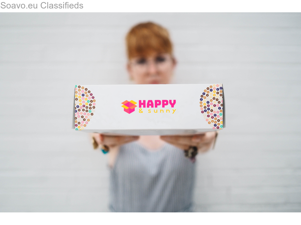 Become a Licensee: Sell Happy&Sunny™ brand artisan vegan treats through delivery apps.