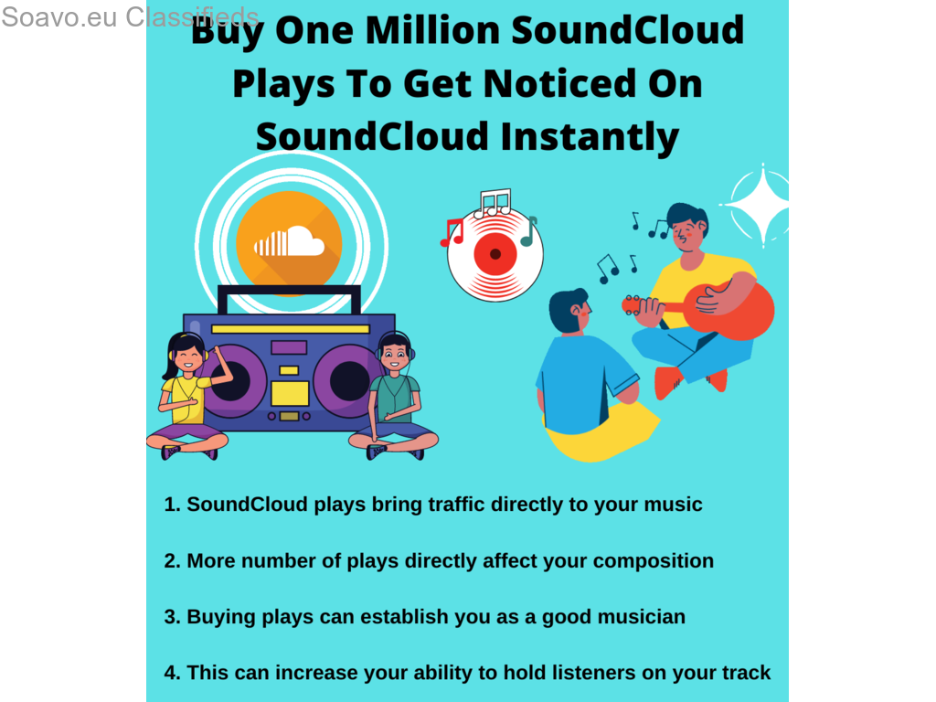 How Can I Buy One Million SoundCloud Plays?