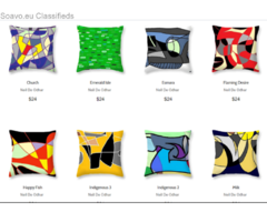 Great, affordable GIFT IDEAS !! .... pillows, coffee mugs, cell phone cases, and more!