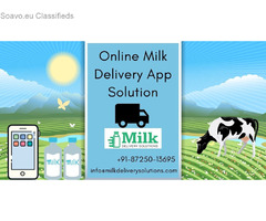 Online milk management system