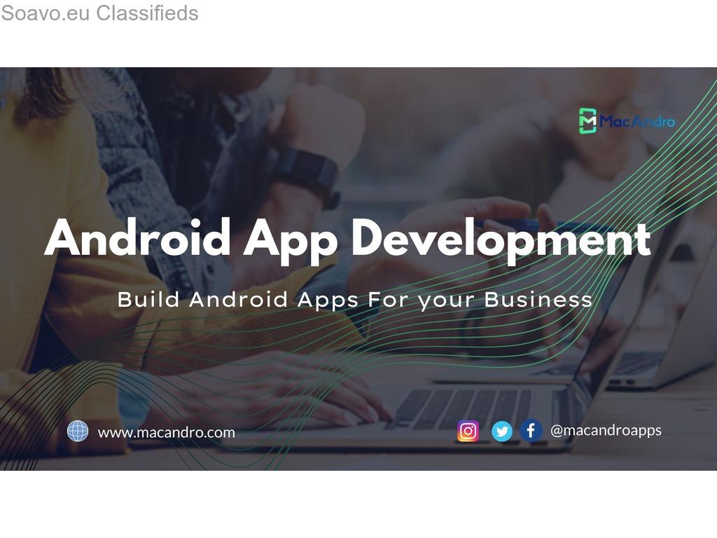 Android Mobile App Development Company - MacAndro