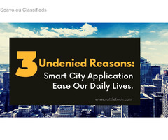 How Smart City Mobile Applications Ease our lives?