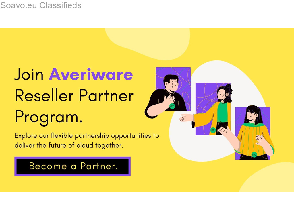 Build your business with Averiware Partner Program